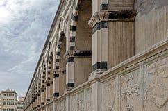 Detail of Santa Maria Novella, Florence stock image