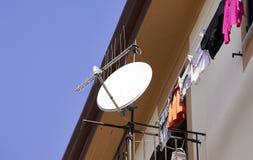 detail of satellite antenna Stock Photo