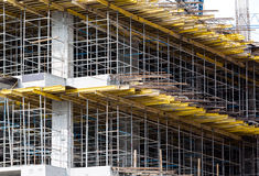 Detail of scaffolding Royalty Free Stock Photo