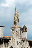 Detail of Scaliger Tombs,Arche Scaligere of Cansignorio - Verona Italy Royalty Free Stock Photo