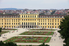 Detail of Schoenbrunn Palace in Vienna, Austria Stock Photos
