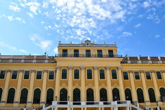 Detail of  Schonbrunn Palace Vienna Austria Stock Images