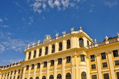 Detail of  Schonbrunn Palace Vienna Austria Royalty Free Stock Photos