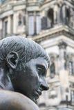 Sculpture in Berlin stock photos