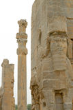 Detail of sculpturesof Persepolis, Iran Stock Image