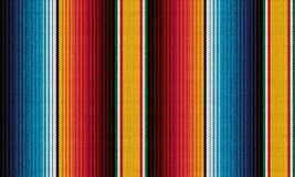 Free Detail Seamless Color Background. Texture Pattern For Continuous Replicate. Mexican Rug Pattern. Serape Stripes Vector Stock Images - 196627554