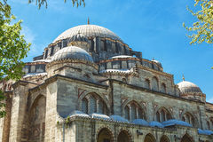 Detail of Sehzade Mosque in Istanbul. Turkey Stock Photo