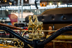 Detail of self-propelled carriage AAGLANDER-Mylord modern replica. Stock Photography