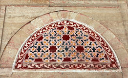 The Detail of Selimiye Mosque, Edirne. Stock Photos