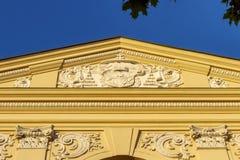 Detail of Seminarium Marianum, Marinasky seminar, in Trnava, Slovakia Royalty Free Stock Photography