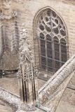 Detail of Sevilla cathedral Royalty Free Stock Images
