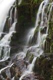 Detail Sgwd Isaf Clun Gwyn Waterfall River Afon Mellte Stock Photo