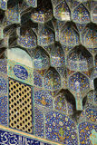 Detail of the Sheikh Lotfollah Mosque in Isfahan, Ir Stock Photo