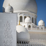 Detail Sheikh Zayed Grand Mosque Abu Dhabi Royalty Free Stock Images