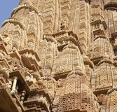 Detail, shikhara temple spires Royalty Free Stock Photo