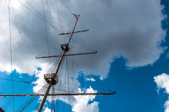 Detail of a ship Royalty Free Stock Images