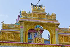 Detail of the Shirdi Sai temple in Chennai Stock Photos