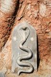 Detail of Shiva-Virupaksha Temple at Hampi, India Stock Image