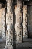 Detail of Shiva-Virupaksha Temple at Hampi, India Stock Images