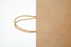 Detail of shopping bag. Royalty Free Stock Photo