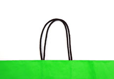 Detail of shopping bag. Royalty Free Stock Photography