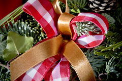 Detail shot of advent wreath Royalty Free Stock Photos