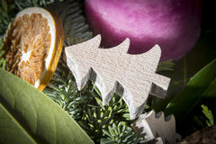 Detail shot of advent wreath Stock Photo