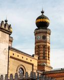 Detail shot of jewish synagogue in Budapest royalty free stock photos