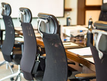 The detail shot of a meeting room, Stock Image