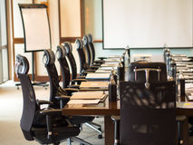 The detail shot of a meeting room,. Soft and select focus royalty free stock photos