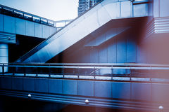 Detail shot of modern office buildings. In city of China Royalty Free Stock Photos