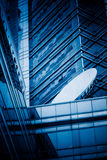Detail shot of modern office buildings in city. Of China Royalty Free Stock Images