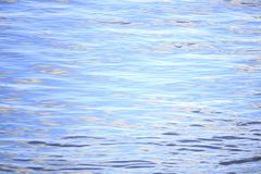 Detail shot of river water with small waves of light blue color royalty free stock photos