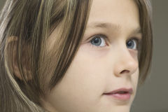 Detail Shot Of Young Girl Stock Image