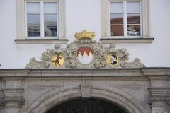 Detail shotes in wuerzburg. In bavaria Stock Photography