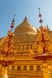 The Shwezigon Pagoda Royalty Free Stock Images
