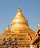 The Shwezigon Pagoda Royalty Free Stock Images
