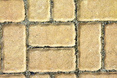 Detail of sidewalk Royalty Free Stock Photography