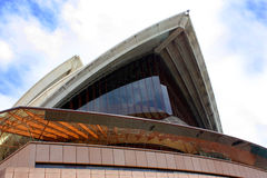 Detail of Sidney Opera House. Stock Image