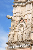 Detail of Siena Cathedral in Italy Royalty Free Stock Image