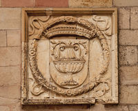 Detail from Siguenza Cathedral, Spain Royalty Free Stock Photography