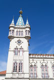Detail of Sintra City hall (Portugal) Stock Images
