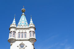 Detail of Sintra City hall (Portugal) Stock Photography