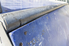 Detail of a  Skateboard Park Stock Photography
