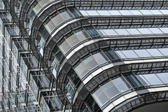 Detail of a skyline building Stock Images