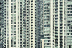 Detail of a skyline building Royalty Free Stock Photo