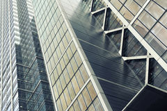 Detail of a skyline building Stock Image