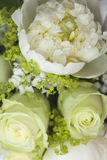 Detail of small bouquet for bride or bridesmaid Royalty Free Stock Image