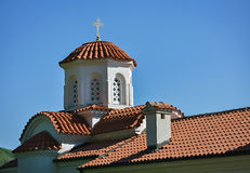 Detail of a small church Stock Photography