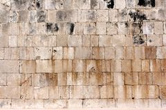 Detail of Small Mayan Pyramid at Chichen Itza Stock Photos